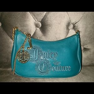 Genuine ❤️Juicy Couture👛 Mini Teal Purse!